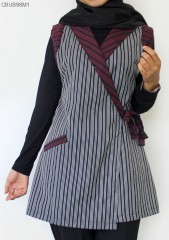 Outer Lurik Halus Kimono Saku