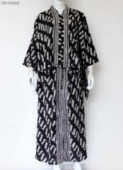 Setelan Batik Rok Celana Katun Paris