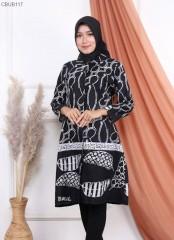 Tunik Batik Motif Godhong Seno