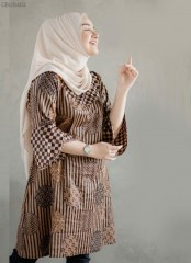 Tunik Batik Terompet Sogan Moca