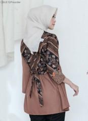 Blouse Batik Peplum Vira Klasik Milo