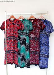 Daster Batik Kaos Batik Cap Tuban Kancing