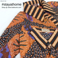 Gamis Batik Blarak Motif Semut