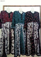 Gamis Klok Batik Tulis Tuban Kaos