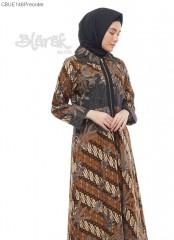 (Free Masker) Gamis Outer Exclusive Batik Blarak Modern Seno Parang