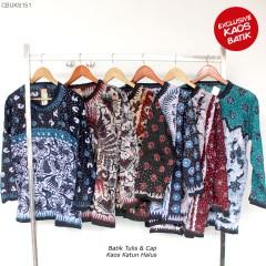Kaos Batik Parang Etnik