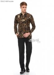 Kemeja Batik Blarak lengan Panjang Teratai (Limited Edition)