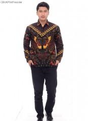Kemeja Batik Katun Cendrawasih