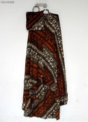 Mukena Batik Sogan Parang Seling
