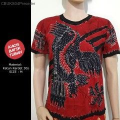 Oblong Kaos Batik Garuda Pantura Tulis