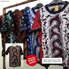Oblong Kaos Batik Pantura Full Tulis