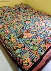 Selimut Batik Motif Batik Perca Tambal Sewu