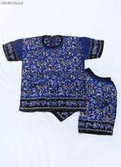 Setelan Anak Kaos Batik Cap Tuban