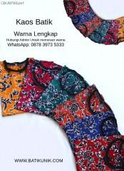 Setelan Kaos Anak Batik Celana Panjang