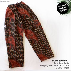 Celana Boim Panjang Batik Santoso