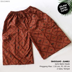 Celana Kolor Batik Super Tanggung Jumbo Klasik