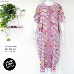 Daster Kelelawar Batik Colet Parang Bunga