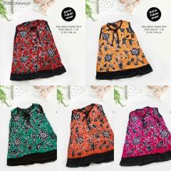 Dress Kaos Bayi Batik Tuban Size Unyil