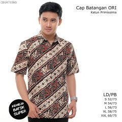 Kemeja Batik Cap Batangan Ori Katun Primissima