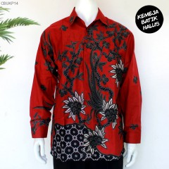 Kemeja Batik Panjang Furing Halus Sragenan Tamanan