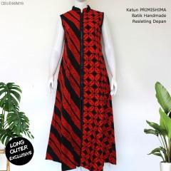 Outer Batik Long Aloka Seling Katun Primis