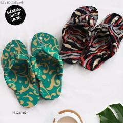 Sandal Batik Oshin Jepit Jumbo Mix Motif