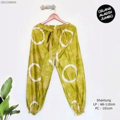 Celana Aladin Warna Cerah Tumpal Jumbo