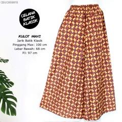 Celana Kulot Batik Klasik Maksi Super