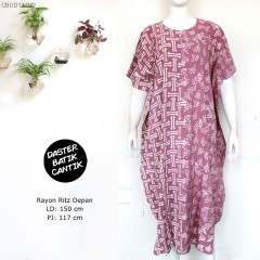 Daster Kelelawar Batik Seling Gedeg
