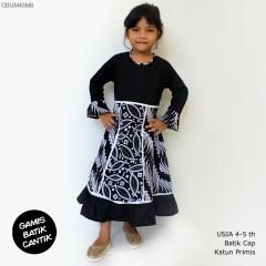 Gamis Anak Rempel Monochrome Ayodia