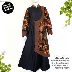 Gamis Exclusive Batik Blarak Modern Sekar Jagad (Limited Edition)