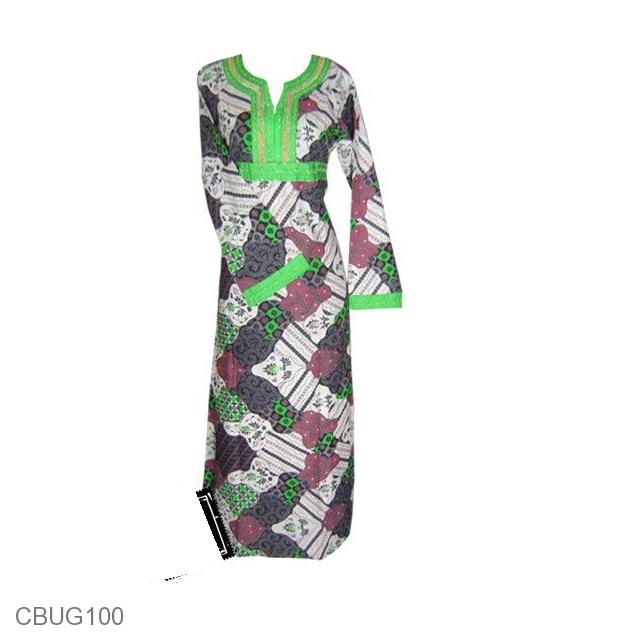 Baju Batik Gamis Payet Aneka Motif Batik Modern Gamis
