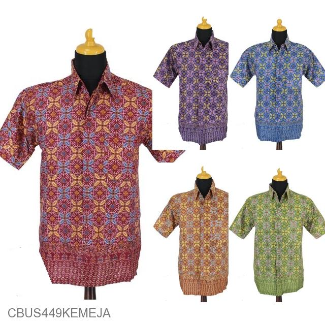 Baju Batik Gamis Pekalongan Motif Songket Kawung Kemeja