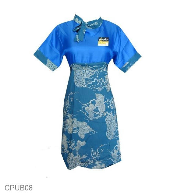 Baju Batik Gaun ABG Motif Batik Aplikasi PROMO!  b1f68a6bbe