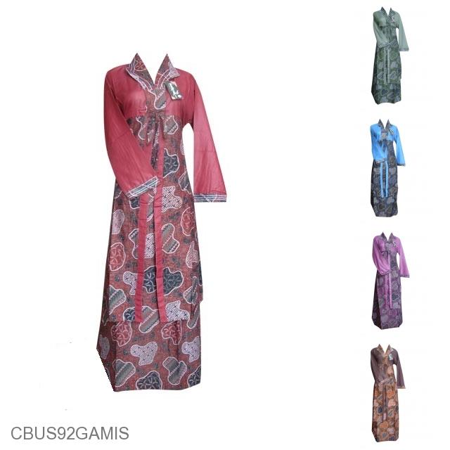 Baju Batik Sarimbit Terbaru Kemeja Dipasangkan Dengan