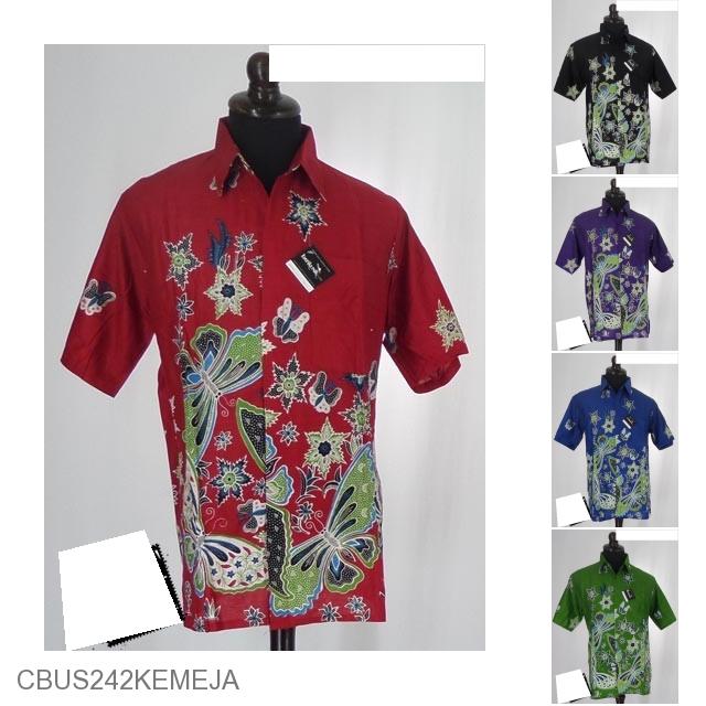 Baju Batik Sarimbit Motif Kupu Bunga Salju Sarimbit