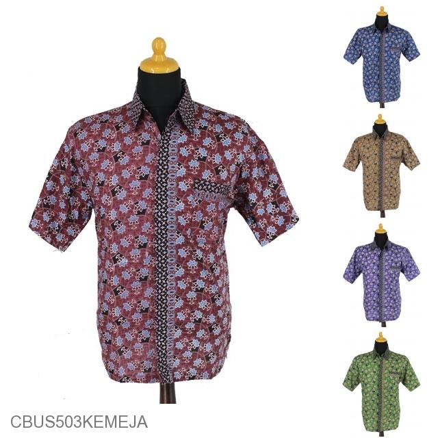 Baju Batik Sarimbit Kemeja Motif Bunga Air Mata Pengantin