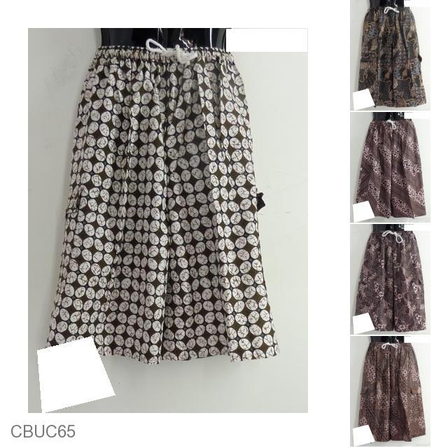 Celana Untuk Batik Pria: Celana Batik Pendek Katun Pria Motif Batik Klasik