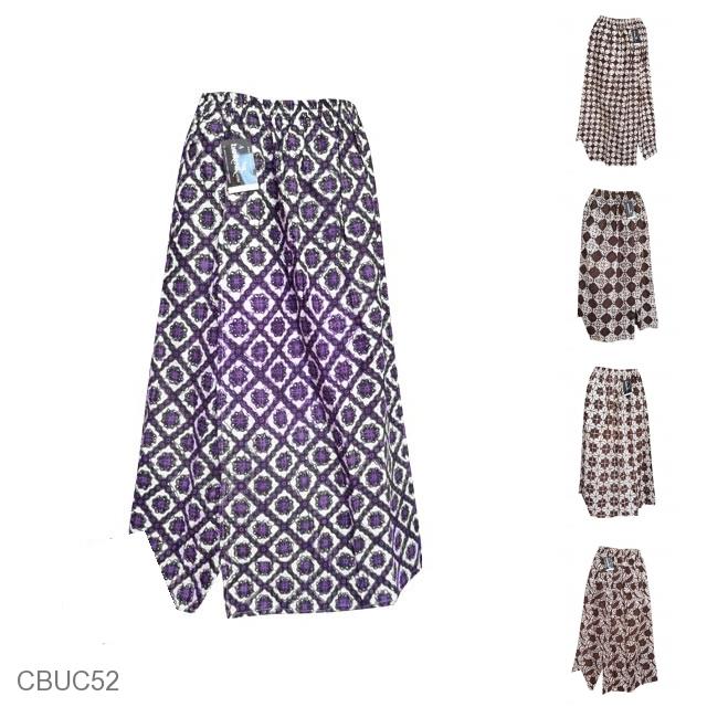 ... Bawahan & Rok » Celana Batik Sarung Panjang Motif Batik Jogja Klasik