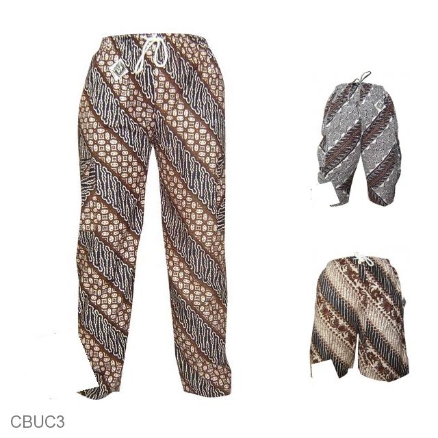 Celana Untuk Batik Pria: Celana Panjang Batik Motif Jogja