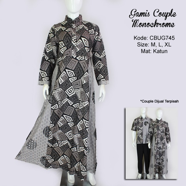 Baju Gamis Batik Monocrom - Wiring Diagram And Schematics