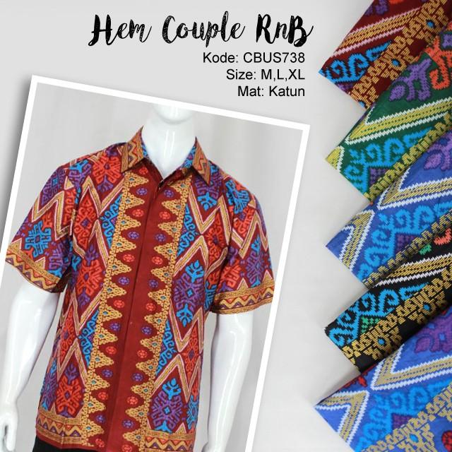 Jual Batik Sarimbit Keluarga Murah  Model Baju Batik Sarimbit
