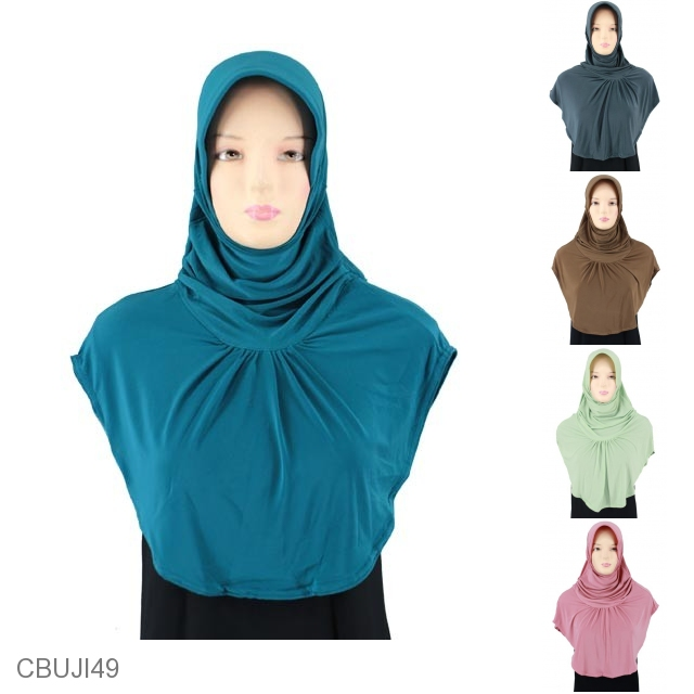 Jilbab Bergo Lipit Alisia Jilbab Pashmina Murah Batikunik Com