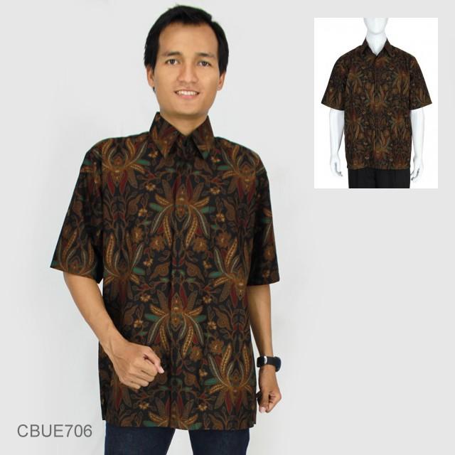 Kemeja Batik Lasem: Kemeja Batik Baturaden Motif Pisang Lasem