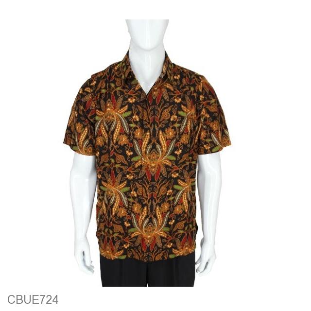 Jual Kemeja Batik Unik: Kemeja Batik Baturaden Motif Pisang