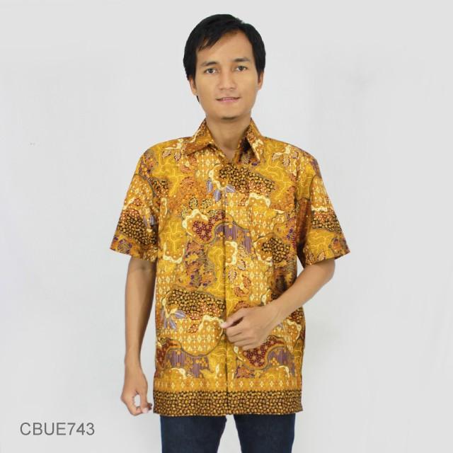 Jual Kemeja Batik Unik: Kemeja Batik Madura Motif Sekar Jagad Modern